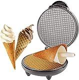 Eletrische Waffelegelmaschine, Eist&uumlte Maschine, Eismaschine, Eierbr&oumltchen Antihaft Dessert Bacform & ochen Geschen - -
