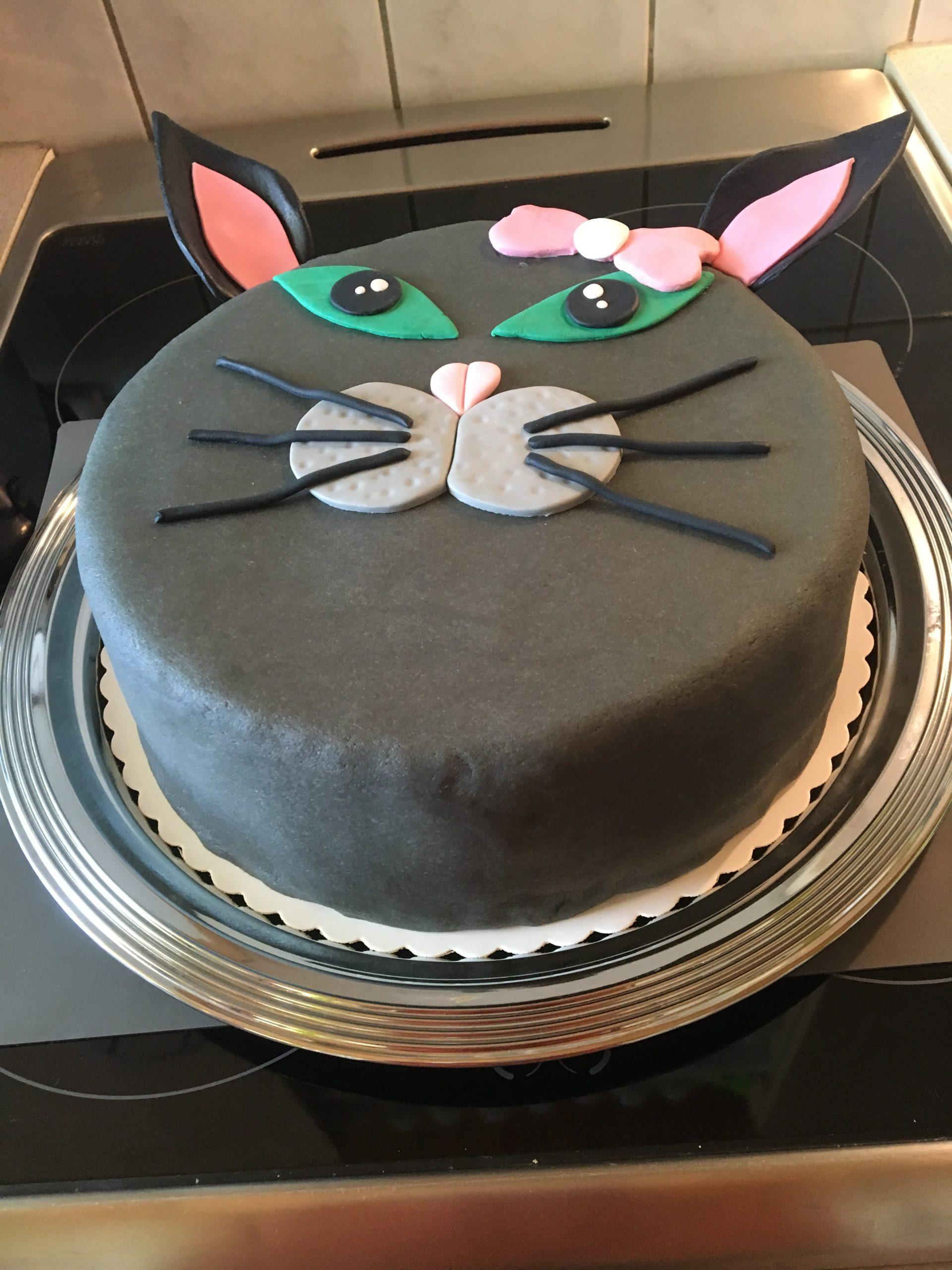 Katzen Torte