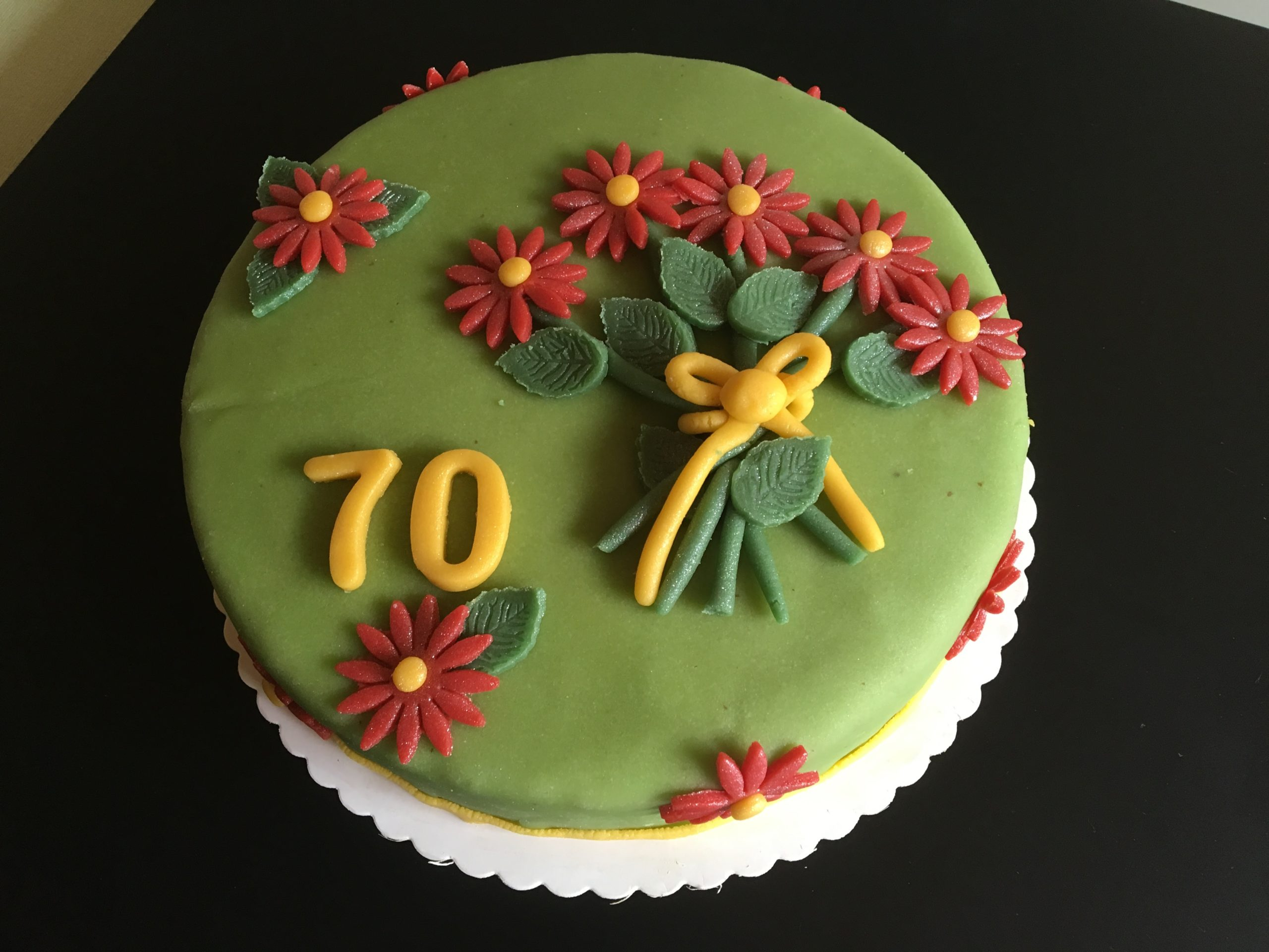 Blumen Torte