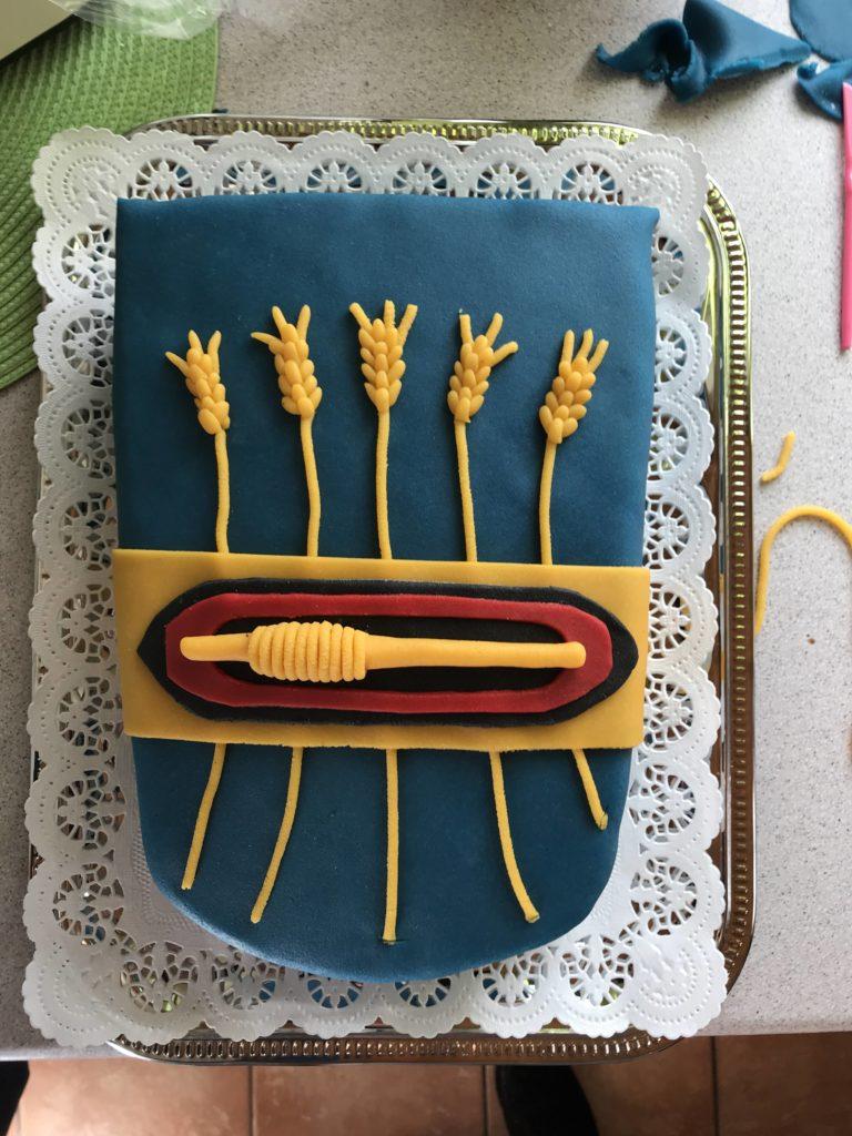 Wappen Zetel Torte
