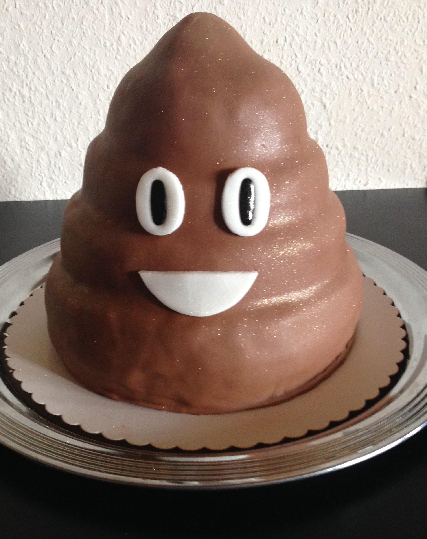 Kack emoji Torte