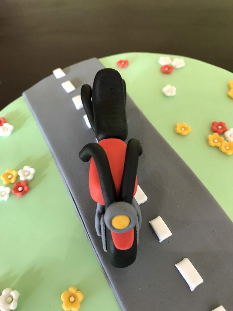 Motorrad Torte