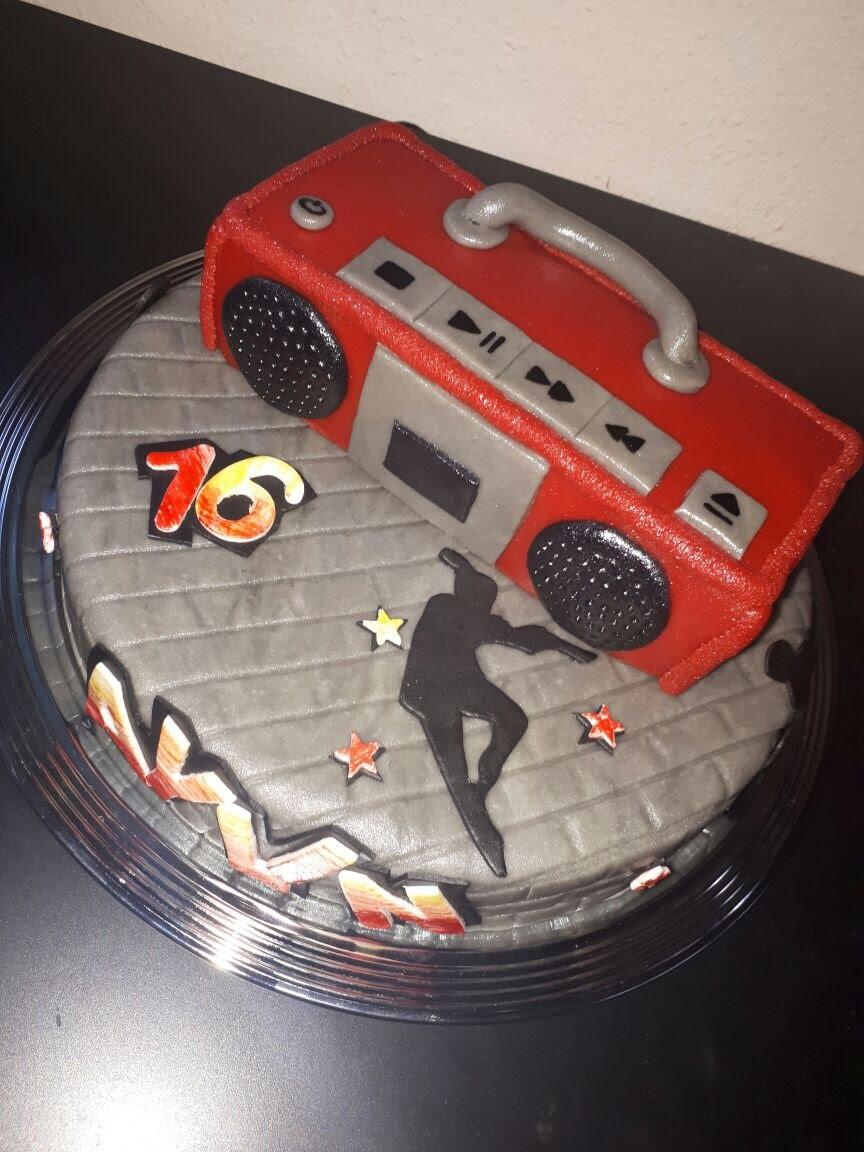 Hip Hop Torte