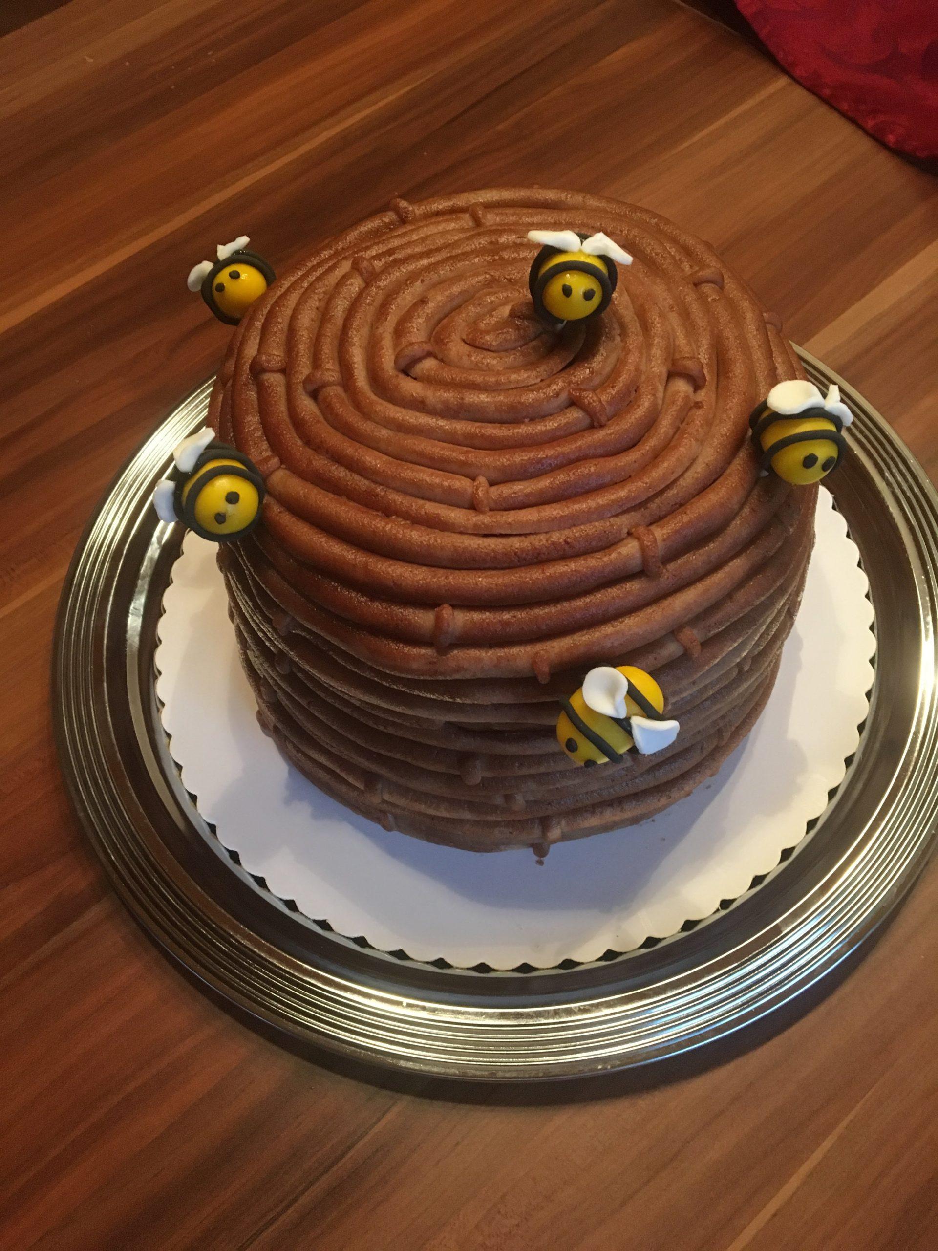 Bienenstock Torte