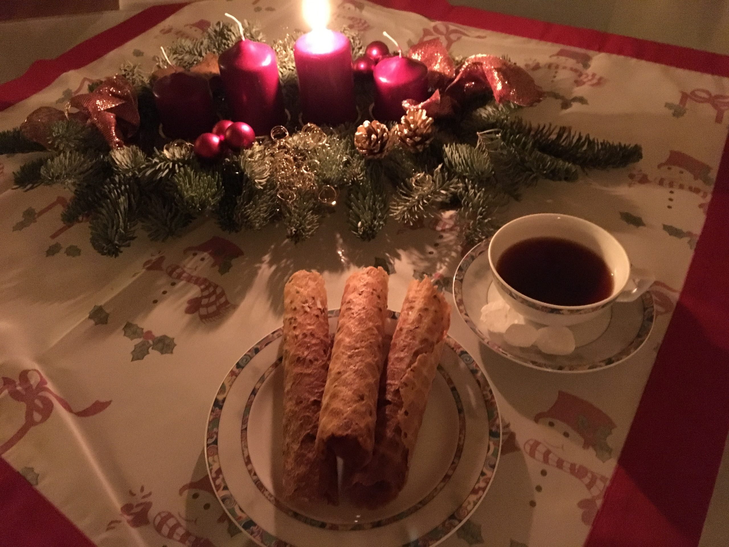 Rezept: Krüllkuchen Neujahrsröllchen selber machen