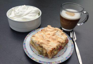 Rhababarberkuchen selber machen