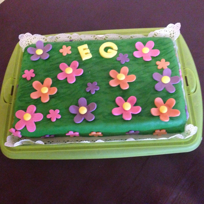 Torte Blumenwiese