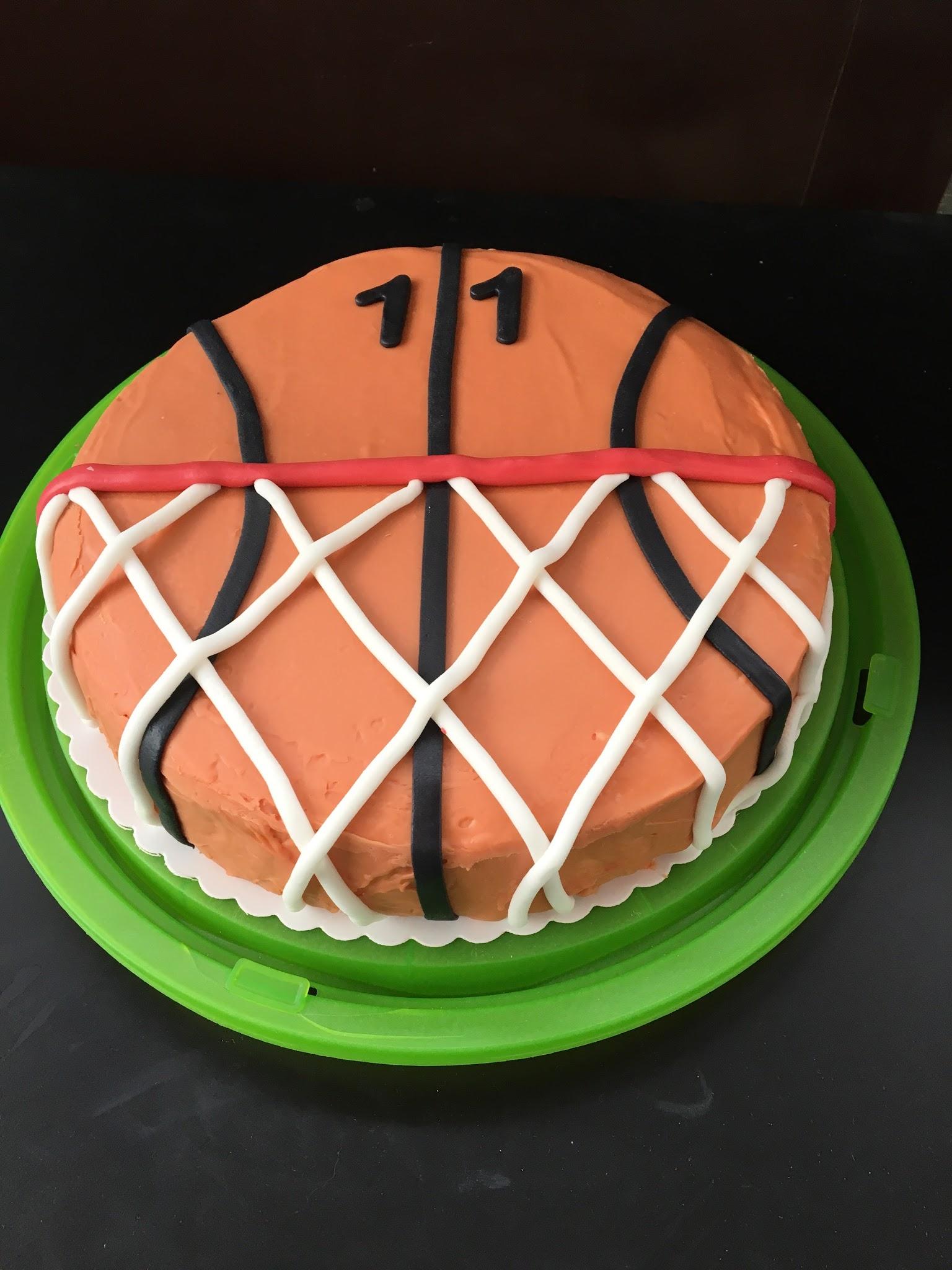 Basketball Torte