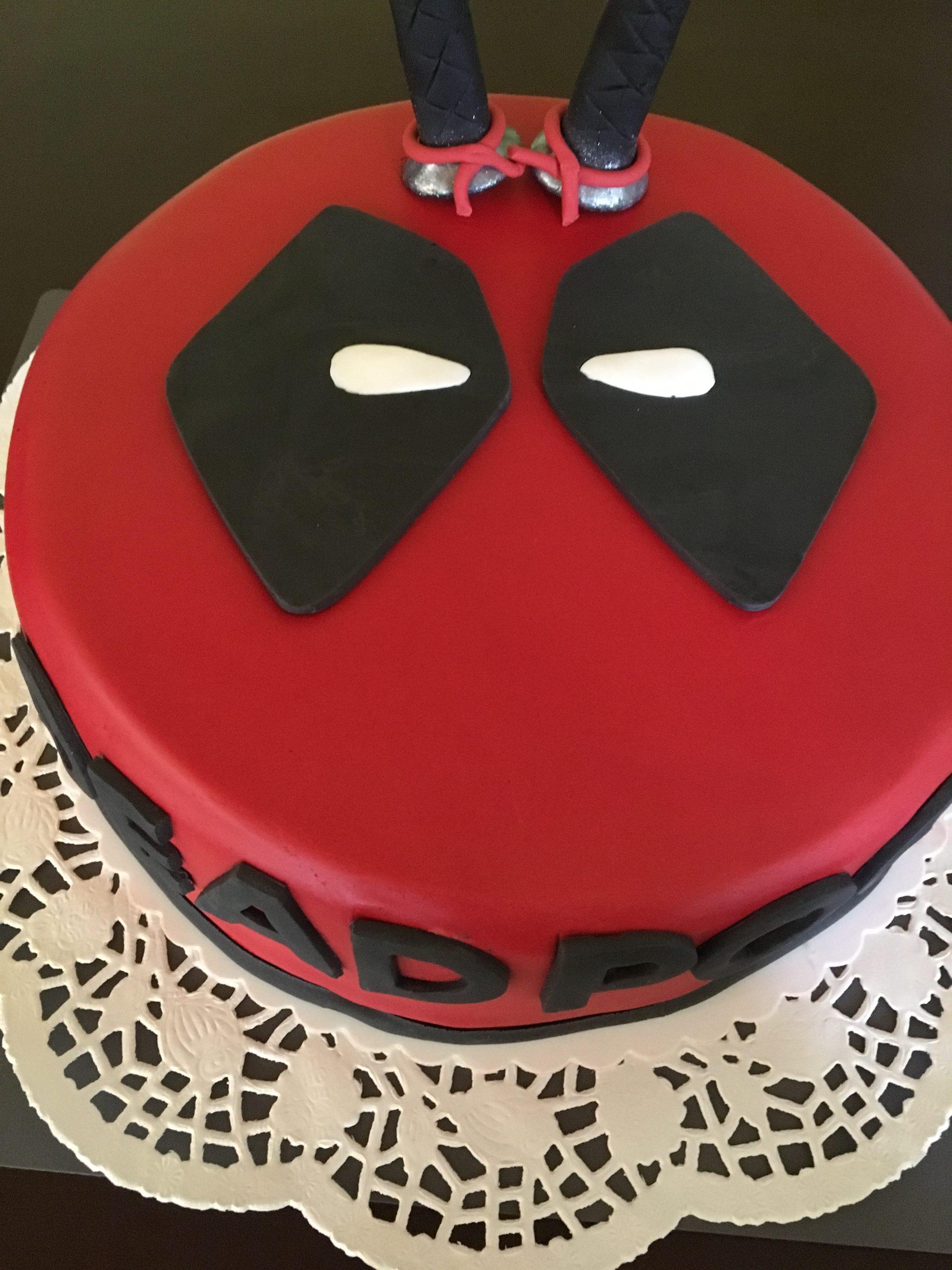 Deadpool Torte