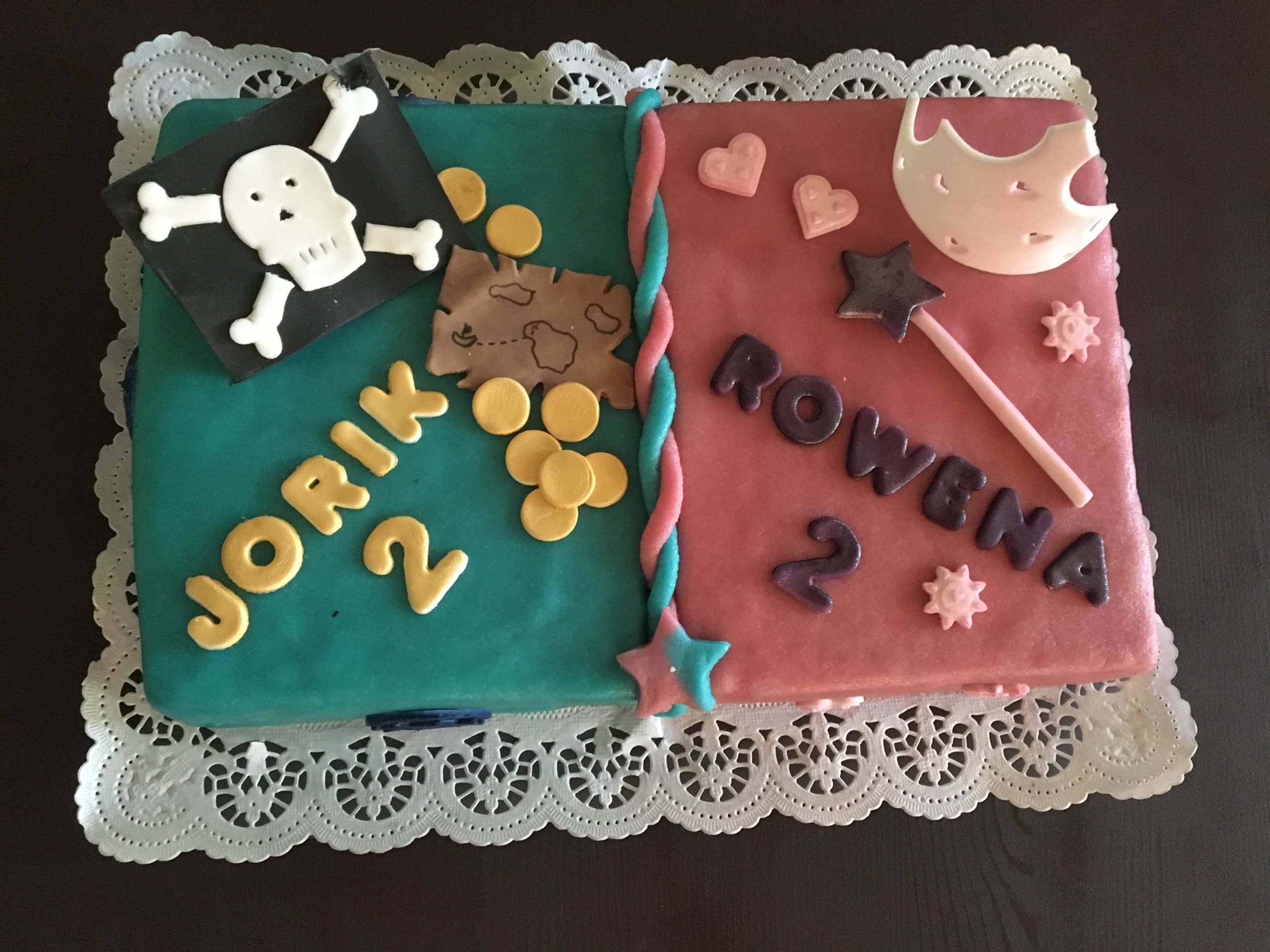 Zwillings Torte