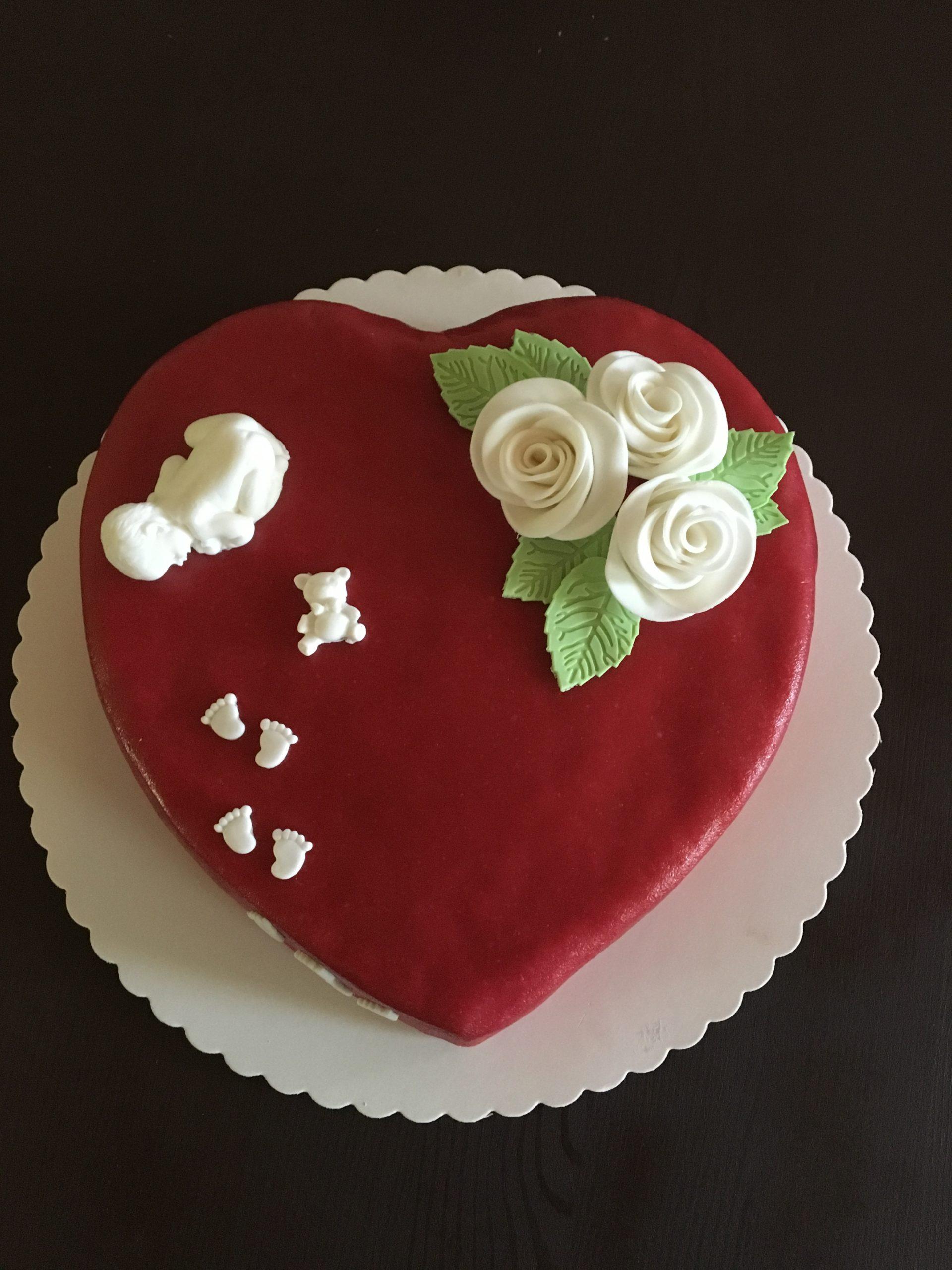Hochzeit zu Geburt Torte