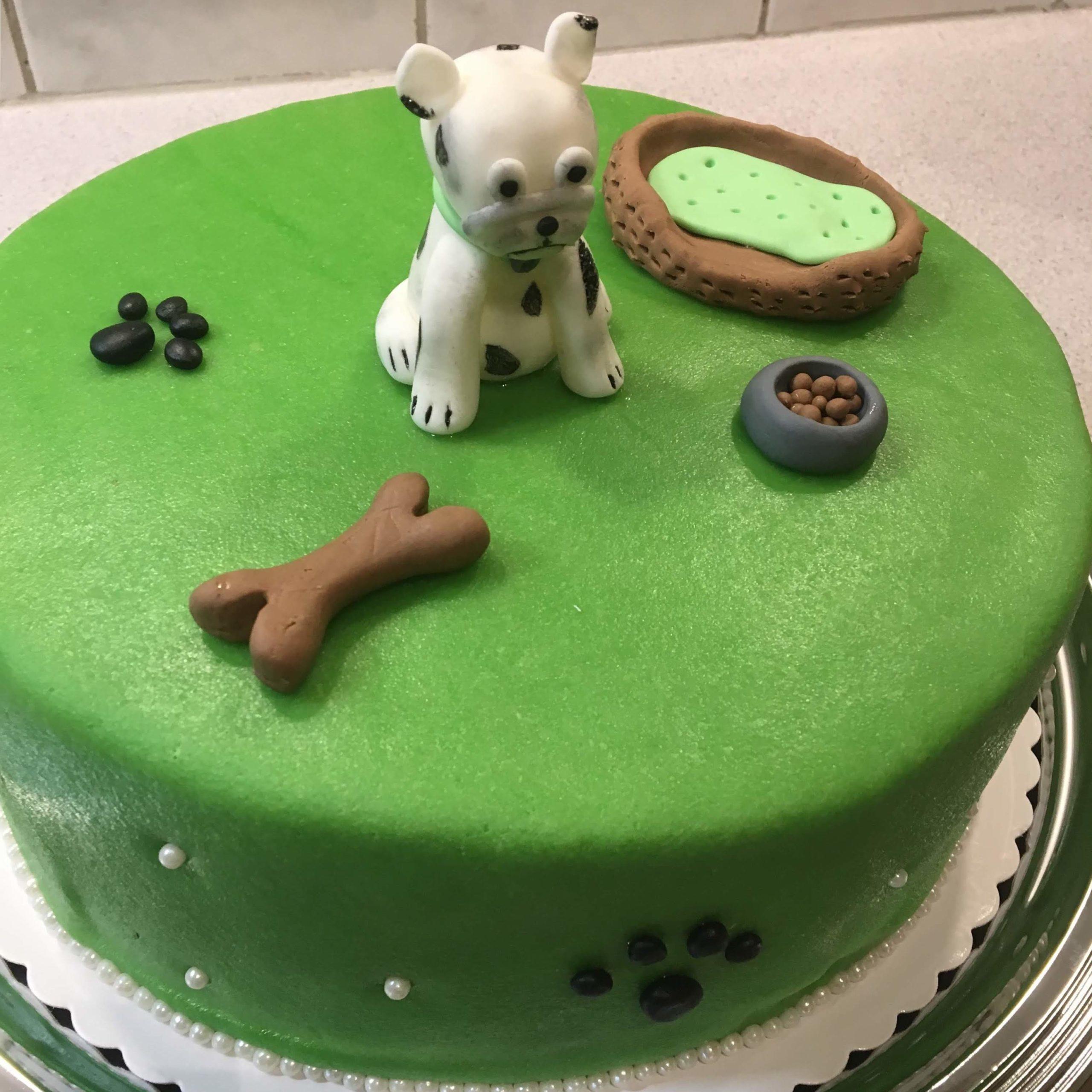 Bulldogen Torte
