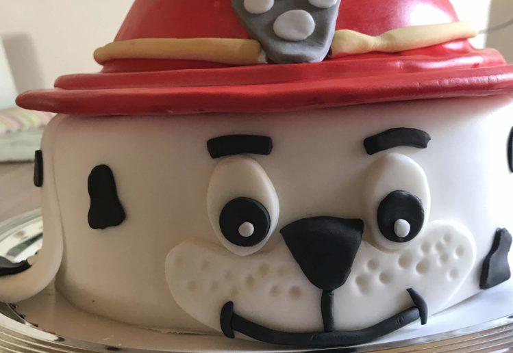 Paw Patrol Marshall Torte