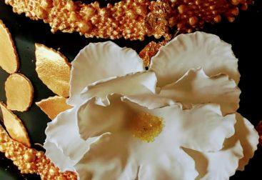 Goldene Hochzeit Torte